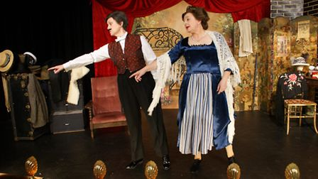 Throw down the bottle. Photo: Broad Horizons Theatre Company