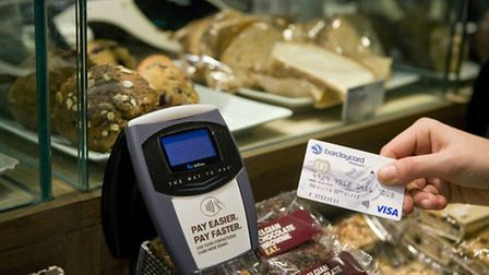 Contactless card payments have more than doubled in major towns and cities across the Eadt of Englan