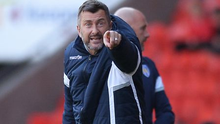 Colchester United assistant manager, Steve Ball