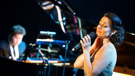 Ruthie Henshall and her band. Photo: Contributed