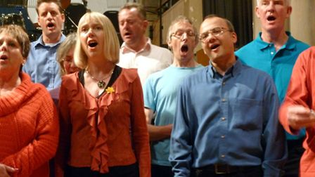 Chris Rowbury's Singing Safari performs at St Peter's by the Waterfront. Photo: Contributed