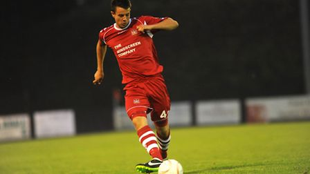 Ollie Fenn has left Needham Market for a loan spell at Bury Town.