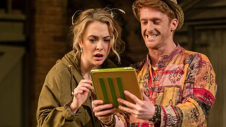 Elisabeth Hopper and Ben Callon in Worst Wedding Ever, a new stage comedy by Chris Chibnall