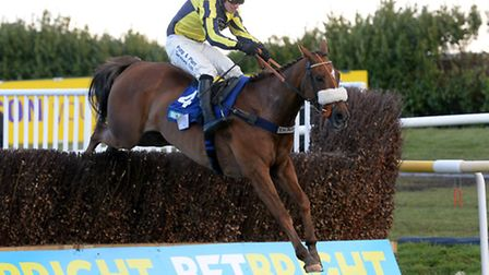 The Last Samuri, under David Bass, warms up for the Grand National in today's Betbright Grimthorpe