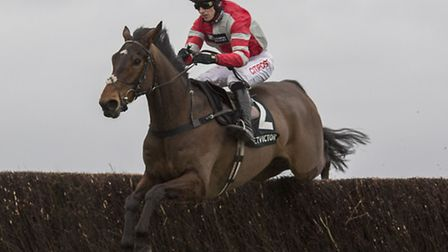 O'Maonlai, under Paddy Brennan, goes for glory in the 3.15pm William Hill High 5 Supporting Greatwoo