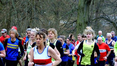 The Suffolk Winter League cross country meeting held at Nowton Park, Bury St Edmunds. Pictures: ANDY