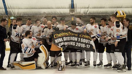 Chelmsford players celebrate