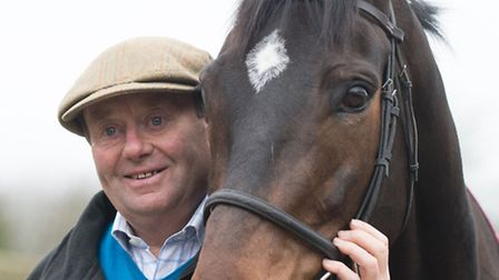 Trainer Nicky Henderson with Altior, one of his leading contenders for honours at next week's Chelte