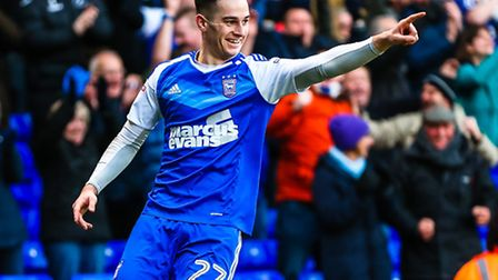 Tom Lawrence says he hasn't heard from parent club Leicester City at all this season. Photo: Steve W