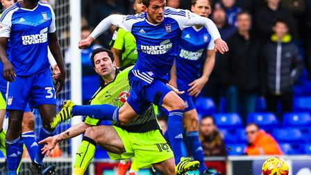 Emyr Huws has scored two goals in his first six games for Ipswich Town. Photo: Steve Waller