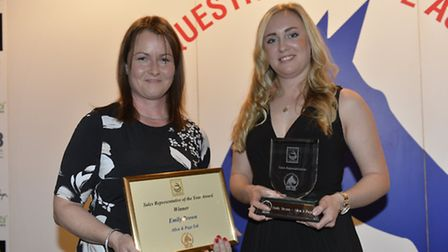 Writtle University College equine graduate, Emily Brown from Witham, winner of the British Equestria