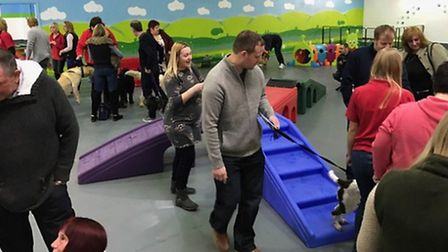 Launch day at the new Needham Market Canine Creche
