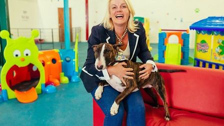Candace Rose, managing director of the Canine Creche Group