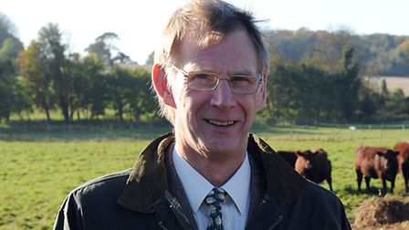 Keith Davis, regional director for the eastern counties of Farming Community Network.
