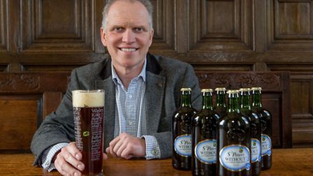 Steve Magnall, chief executive of St Peters Brewery, near Bungay, exports much of its beer products