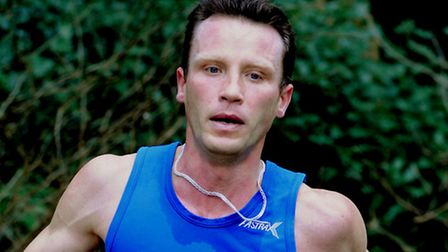 Denys Olefir, of Newmarket Joggers, who clocked a swift time at the Cyprus Marathon