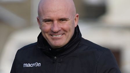 Lowestoft Town manager Ady Gallagher