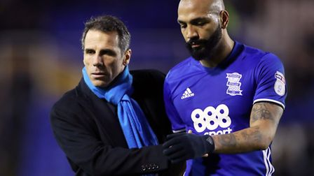 Birmingham have fallen from seventh to 17th in the Championship tabel since Gianfranco Zola (picured