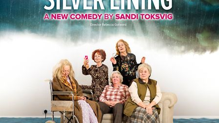 Silver Lining, the new play by Sandi Toksvig which is at the New Wolsey Theatre in Ipswich