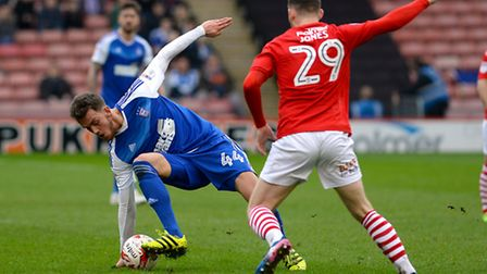 Emyr Huws is ineligible to face his parent cub Cardiff City, but has been struggling with a tight ha