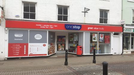 One Stop in Stowmarket. Picture: CHRIS SHIMWELL
