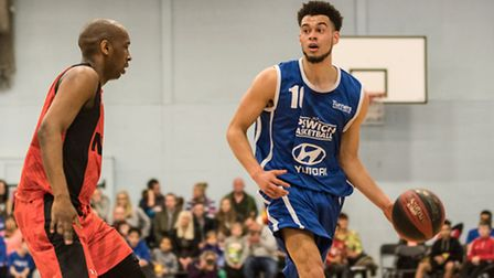Luke Mascall-Wright led Ipswich with 35 points in the win over Newham