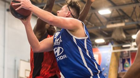 Reserve forward Colin Dockrell had his best game of the season with 21 points against Newham