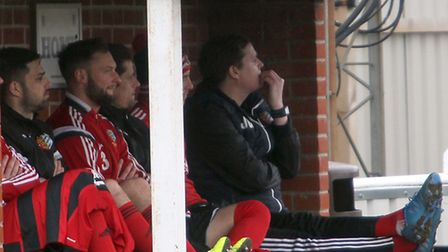 It's a nail-biting time for promotion-chasing Brightlingsea Regent. Picture: STEVE ARGENT
