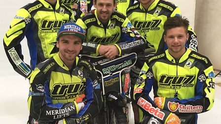 Ipswich Witches 2017. Clockwise, from bottom left: Kyle Newman, Connor Mountain, Rory Schlein, Nico