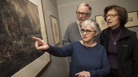 Gainsborough's House will be opening a display of art works, painting materials and family memorabil