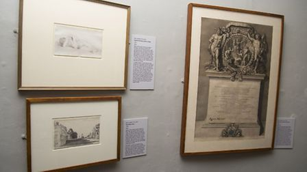 Artworks, painting materials and family memorabilia by Suffolk-born artist John Constable on show at