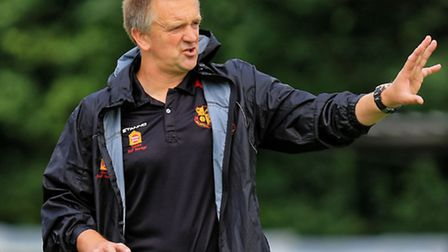 Dean Greygoose's Mildenhall Town are nine points clear at the top