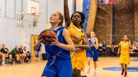 Esther Little scored 28 for Ipswich under 16s