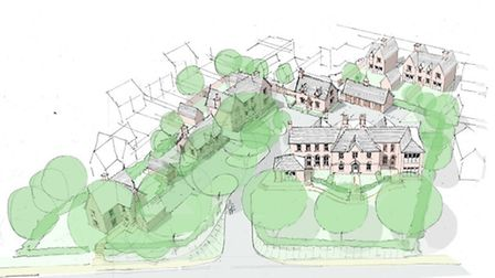 Plan for the redevelopment of Sudbury Hospital site