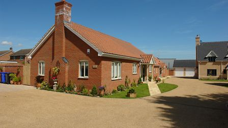 Developer Hartog Hutton created these homes in Bury St Edmunds