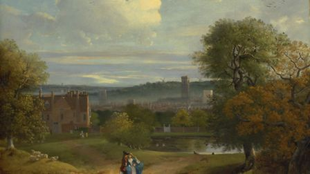 View of Ipswich landscape by the great English artist Thomas Gainsborough