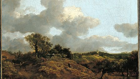 Wooded Landscape with Herdsman Seated. Picture: THOMAS GAINSBOROUGH
