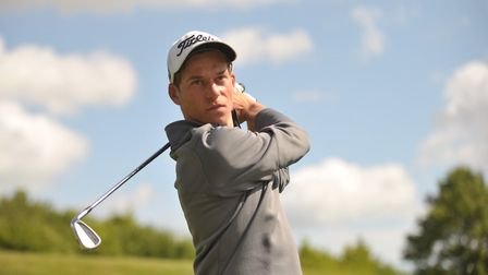 Josh Robertson, part of the Suffolk team playing at Rushmere this weekend.