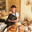 Rebecca Bishop at the Two Magpies Bakery in Southwold