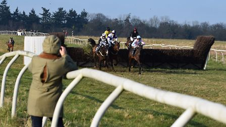 There was plenty of good action at Ampton at the weekend