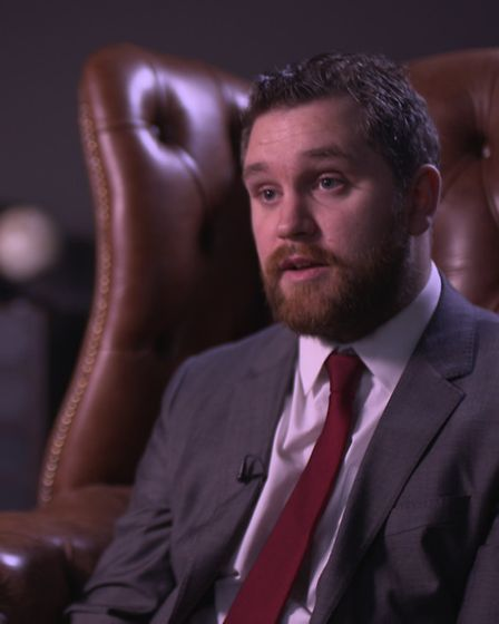 East Anglian Daily Times Essex editor Will Lodge appearing on Teens Who Kill documentary. Photo: CBS