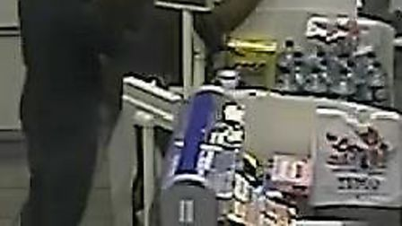 CCTV image of a man police want to speak to in connection with the Chelmsford theft