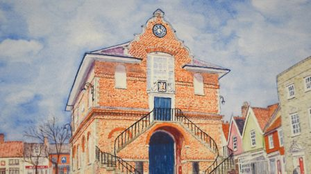 Woodbridge Shire Hall by Tom Ambridge. Picture: GREGG BROWN