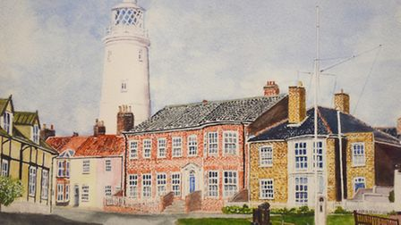 Southwold Lighthouse by Tom Ambridge. Picture: GREGG BROWN