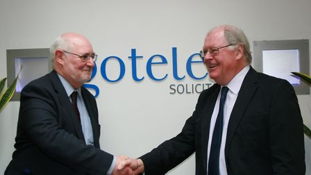 Brian Morron, left, and Alistair Lang of Gotelee Solicitors