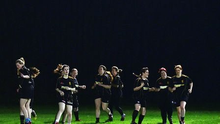 Scorpions womens rugby team. Picture:Sarah Lucy Brown