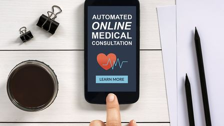 The applicaiton of artificial intelligence could help reduce the burden on the NHS by providing onli