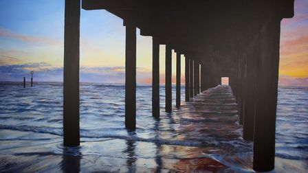The Under The Pier Show - Southwold artist Karen Keable latest exhibition 'I Dream of the Sea' colle