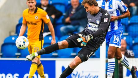 U's keeper Sam Walker, who is set make his 149th league appearance for the U's today, against Luton