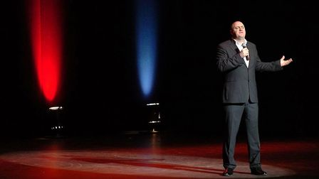 Dara O'Briain, performing here at the Ipswich Regent, is one of the headlien announcements. Picture: